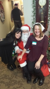 Fun with Santa and Joni Richter at The Hope Club